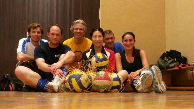 Unsere Volleyballtruppe